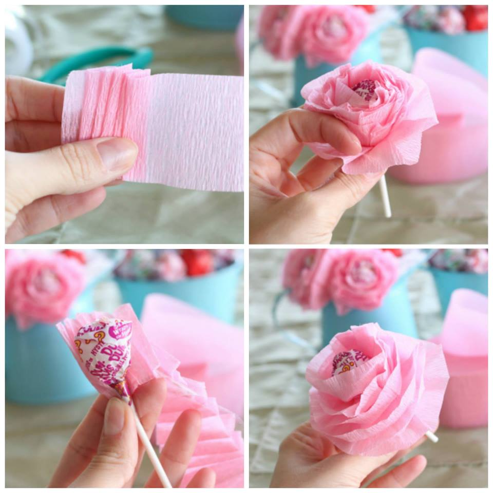 Fantastic DIY Lollipop Flower
