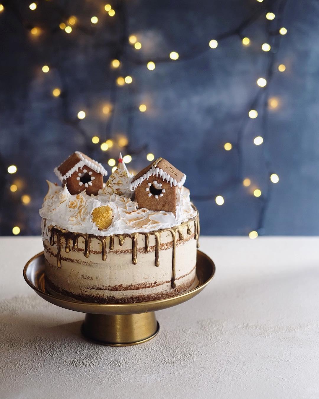 Fantastic Village Cake