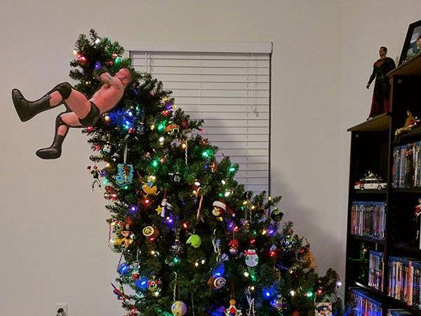 Funky Christmas Tree Decoration