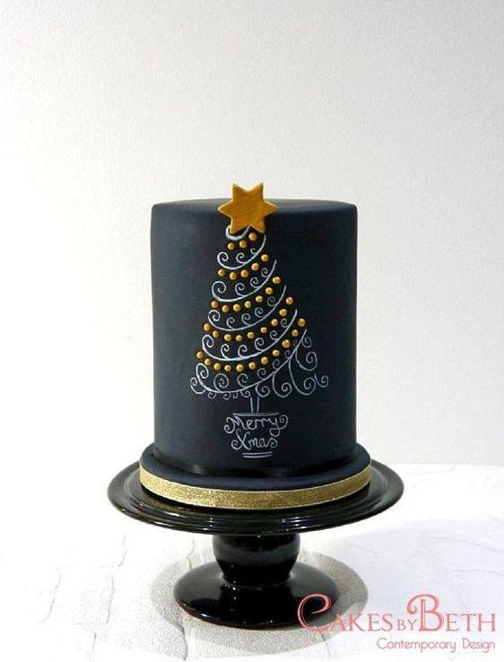 Gorgeous Black Cake