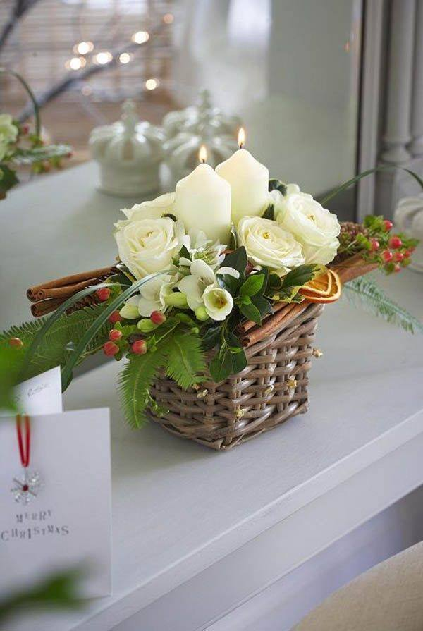 Graceful Centerpiece Idea For Christmas