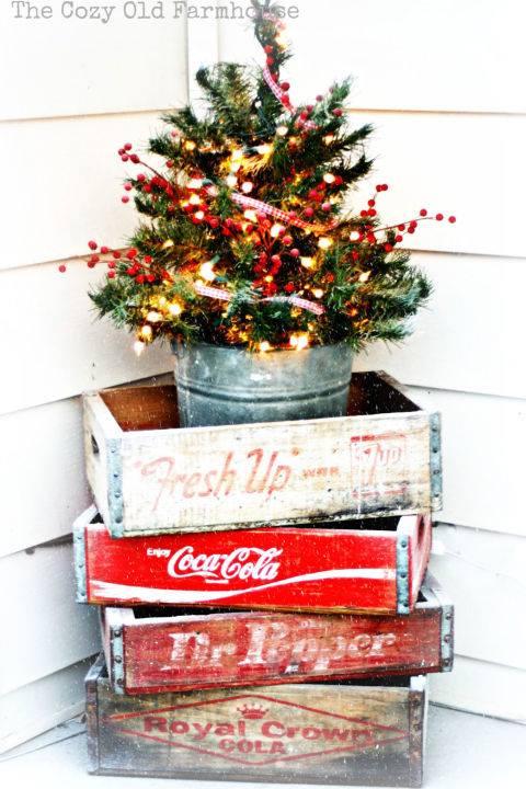 Graceful Christmas Outdoor Decoration Idea