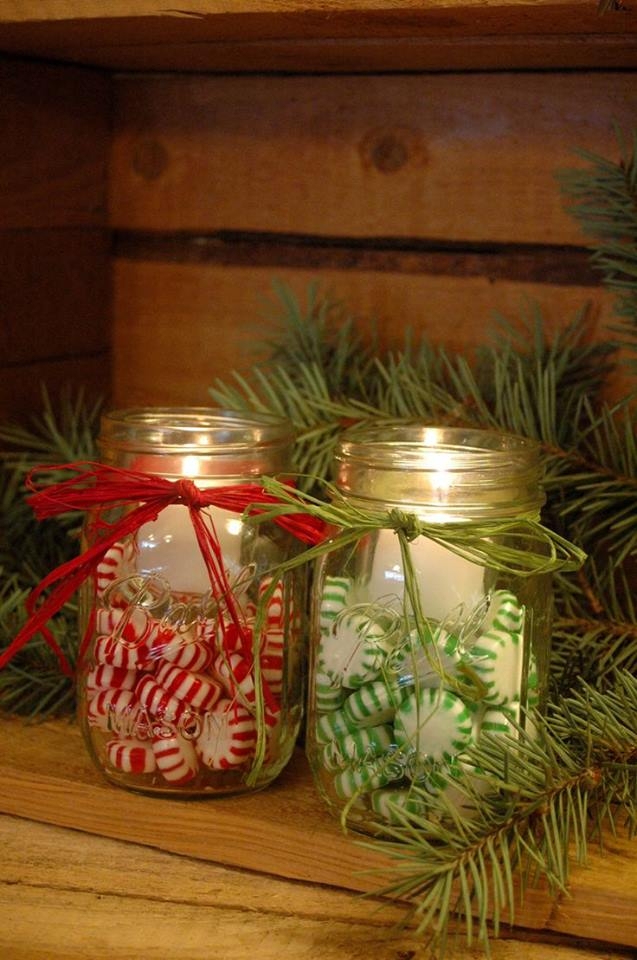 Great Candies Filled Jar Candles