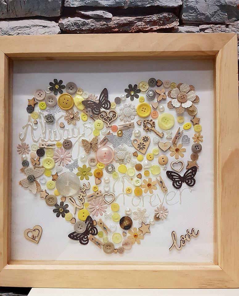 Handmade Bespoke Frame For Christmas