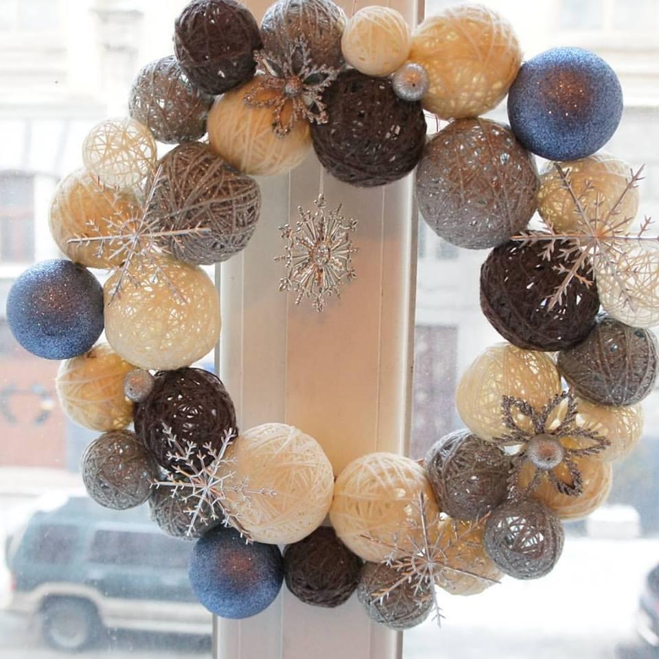 Handmade Wreath For New Year