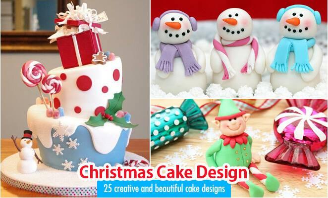 Impressive Christmas Cake