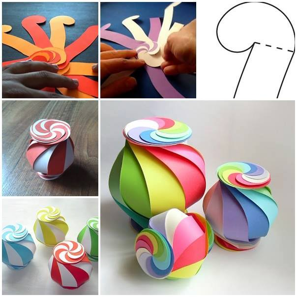 Lovely Colorful Paper Box