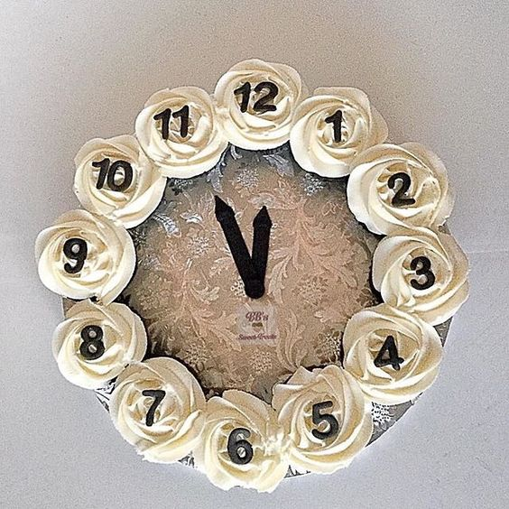 Lovely New Year Countdown Cake