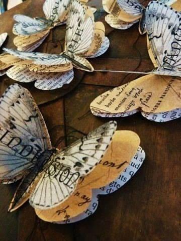 Marvelous Paper Butterflies