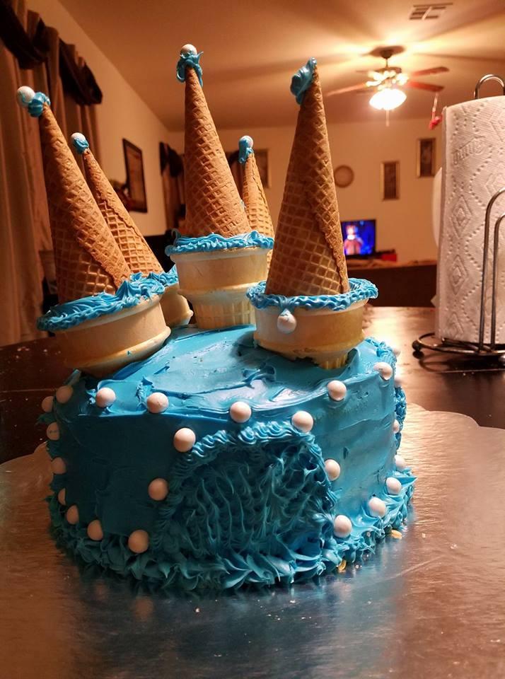 Mouthwatering Cake Decor Idea