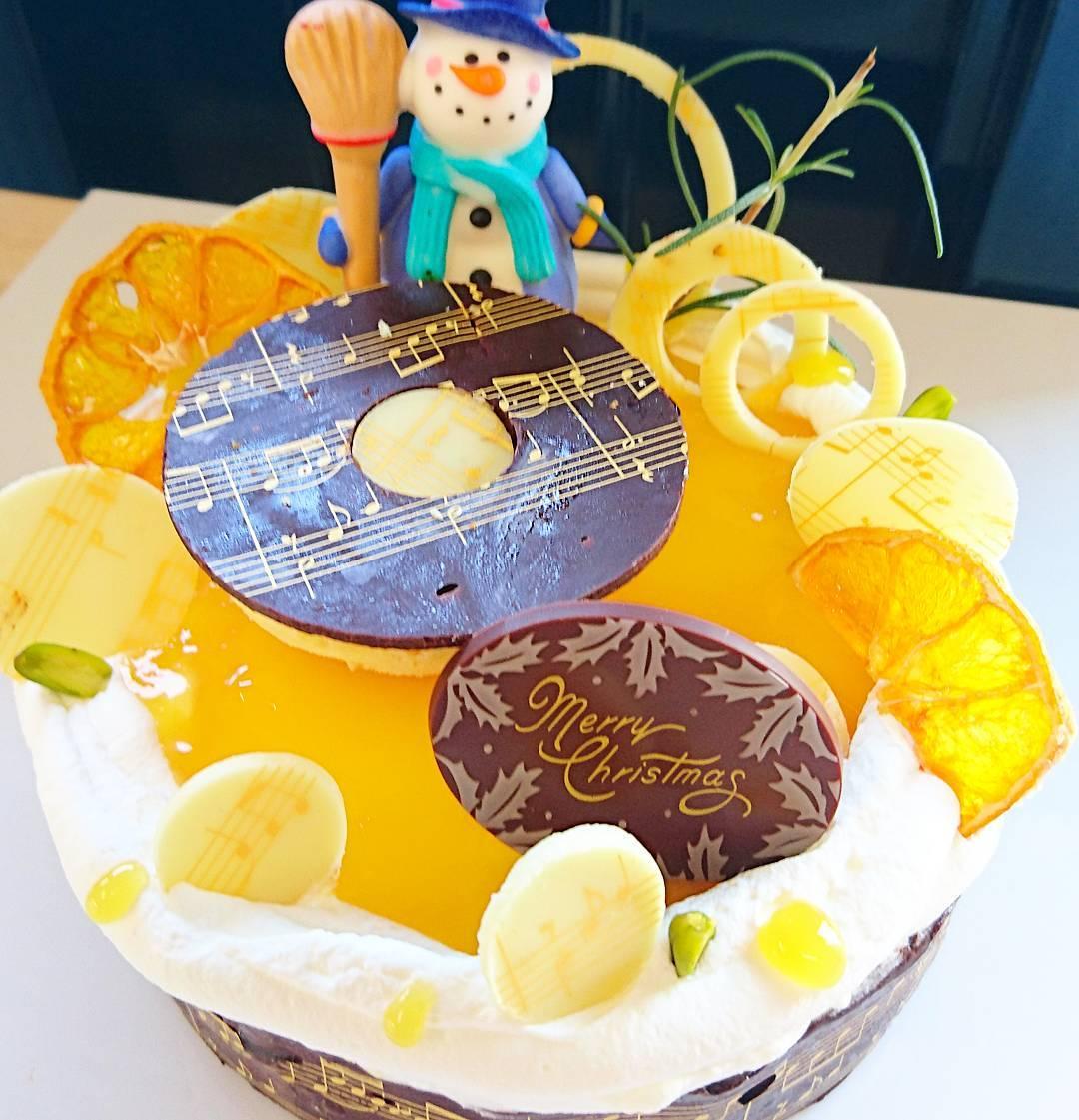 Musi Lover Christmas Cake Design Blurmark
