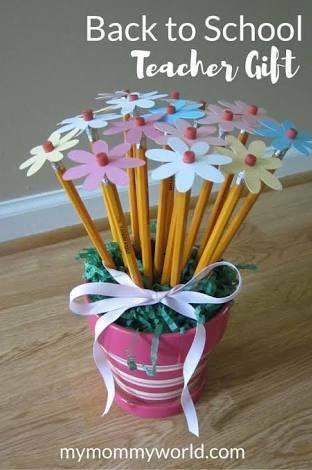 Nice Handmade Flower For Teachers