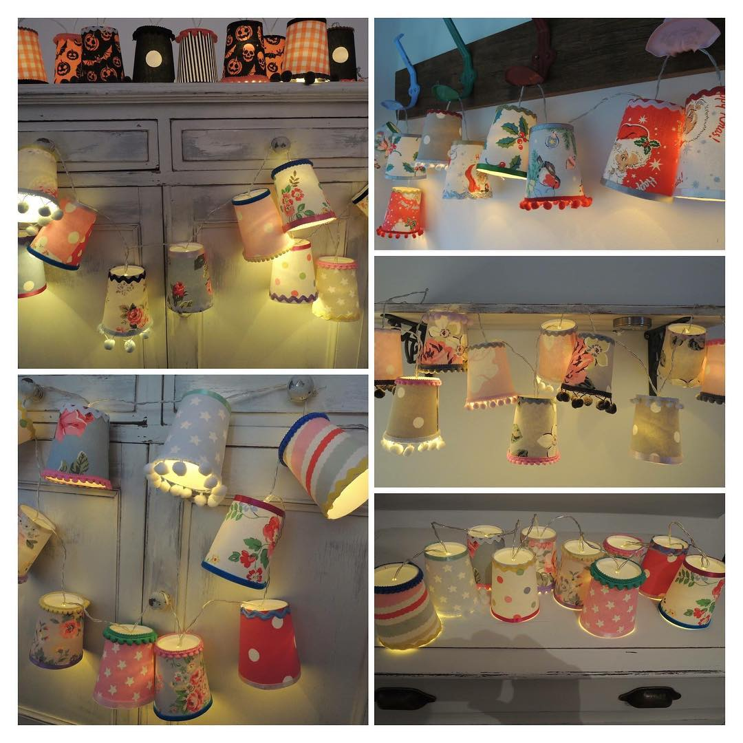 Ravishing Handmade Fairy Light String Lanterns