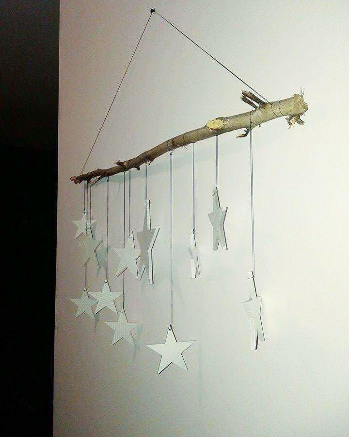 Rustic Star Decor Idea