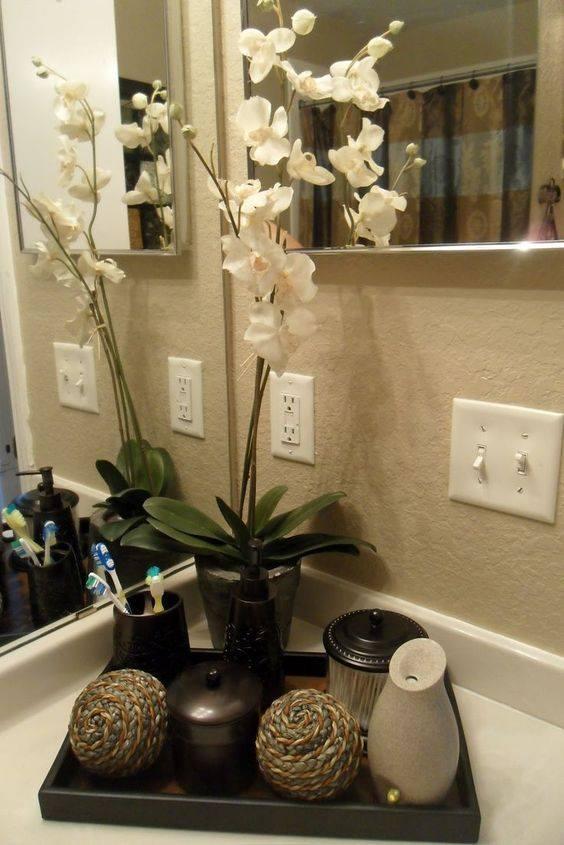 Merry Christmas Floral Poinsettia Snowflakes Shower Curtain Set Bathroom Decor
