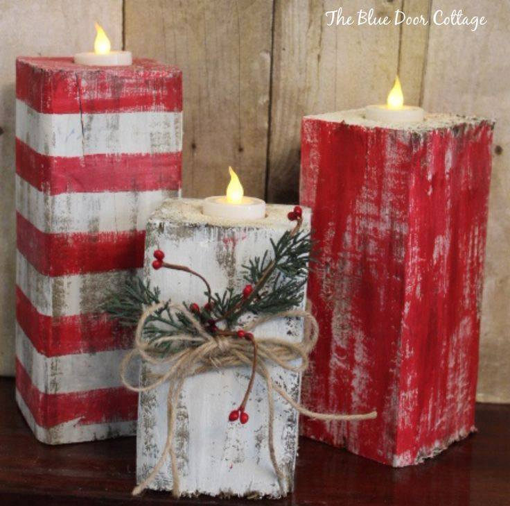 Scrap Book With Tea Light Used To Make Rustic Candles