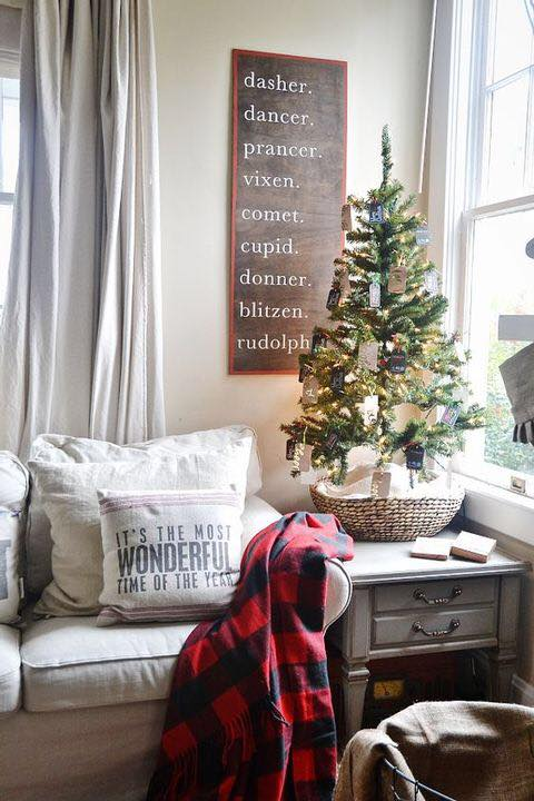 Small Christmas Tree Decoration Idea
