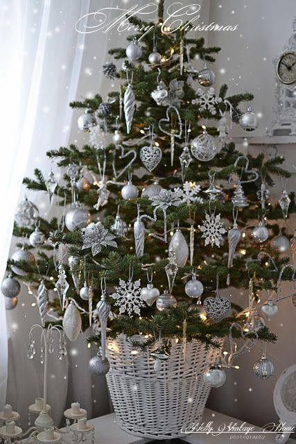 Small Christmas Tree With Beautiful Ornaments