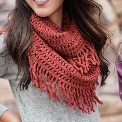 Smart Crochet Scarf