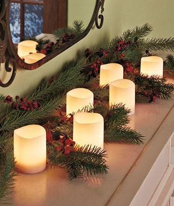 Smart LED Candles Idea For Christmas
