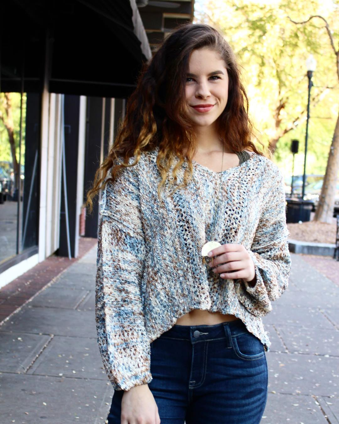 Swanky Sweater With Jeans