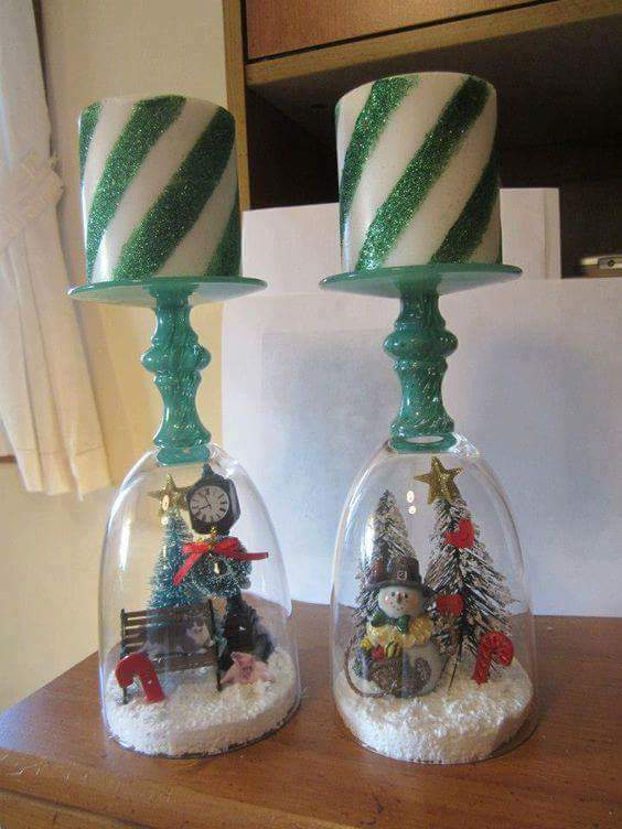 Ultimate Snow Globe Candle Holder