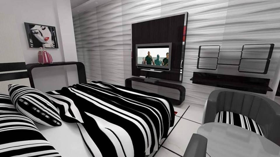 3D Contemporary Bedroom Design