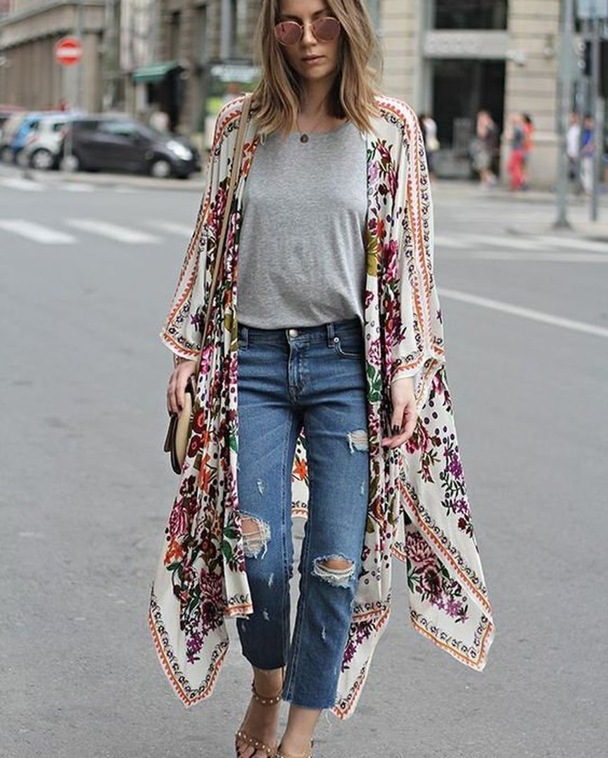 40 Unique Boho Spring Outfits Ideas For Your Wardrobe In 2018