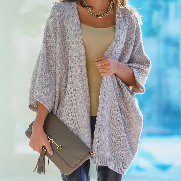 Alluring Knit Cardigan For Winters