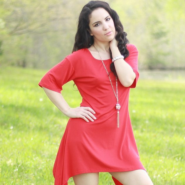 Amazing Red Midi Perfect For Spring