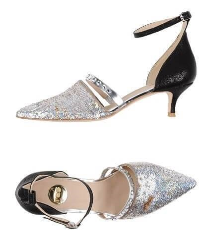 Amazing Sequin Kitten Heels For Party