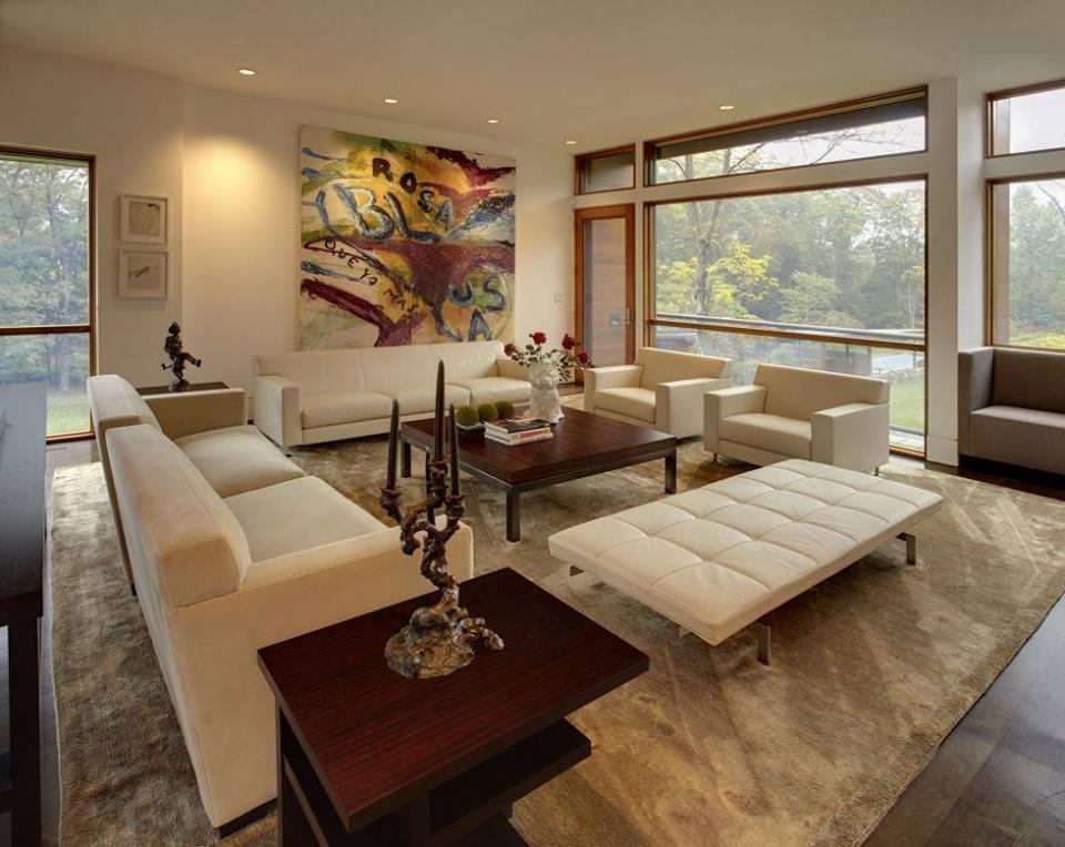 55 Unique Contemporary Living Room Styles