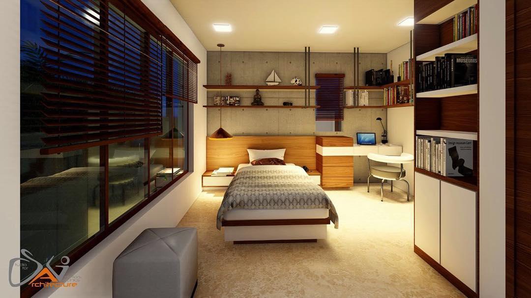 Artistic Studio Style Contemporary Room Interior