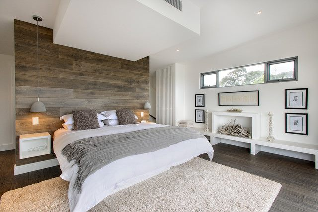 Awesome Bedroom With Contemporary Touch