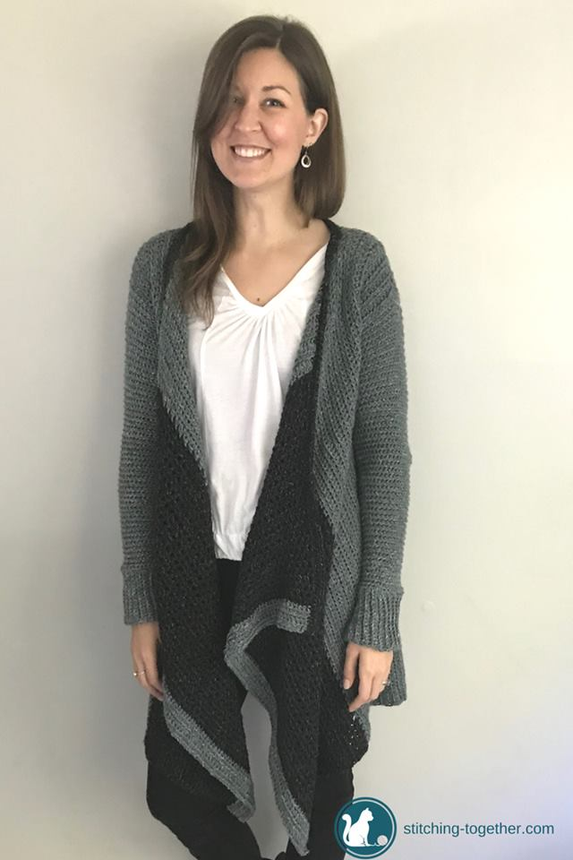 Beautiful Crochet Blanket Cardigan