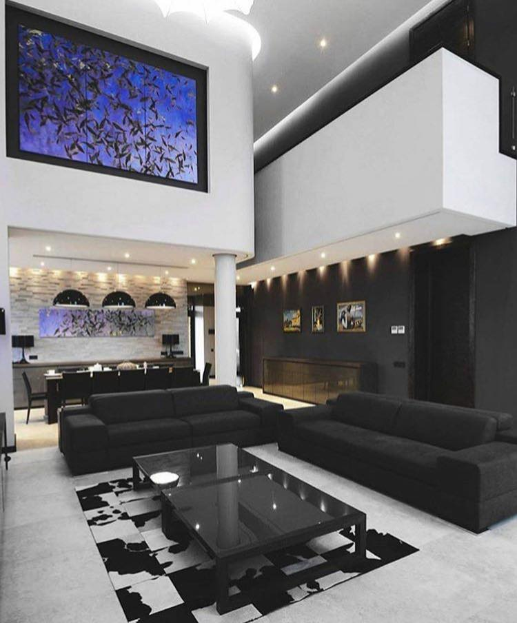 Best Black Moderm Living Room