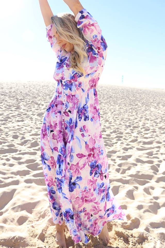 Charming Boho Chic Beach Party Outfit