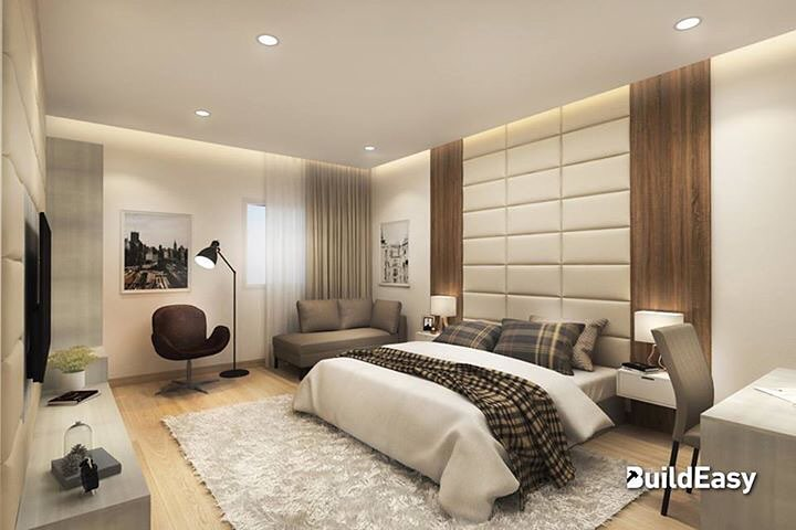 Elegant Bedroom Interior With Contemporary Touch
