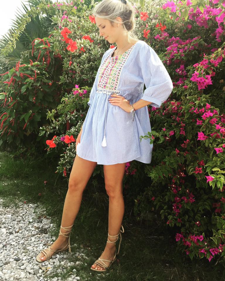 Exclusive Spring Style Short Dress