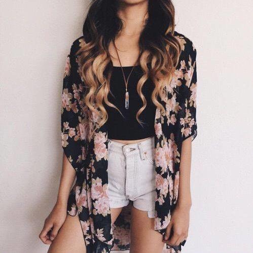 Fashionable Boho Summer Outfit