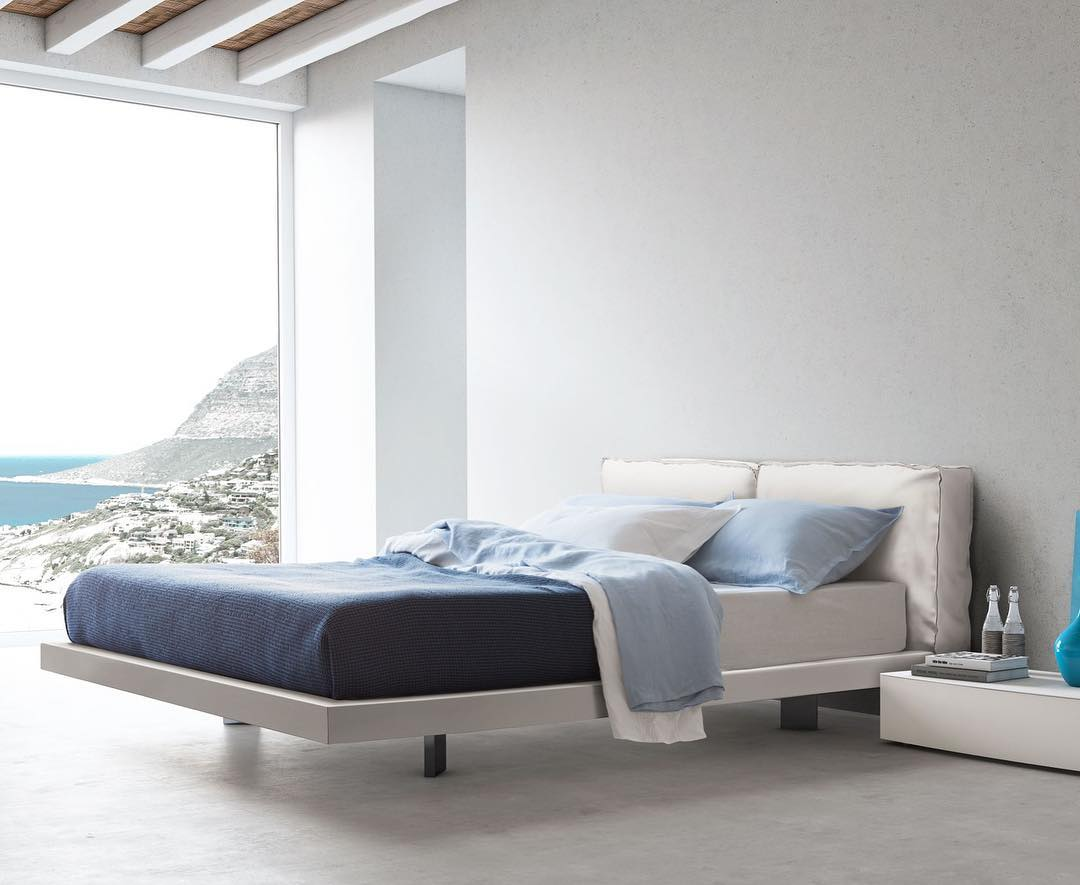 Gorgeous Natural Serene With Upholstered Headboard With Leather Covering