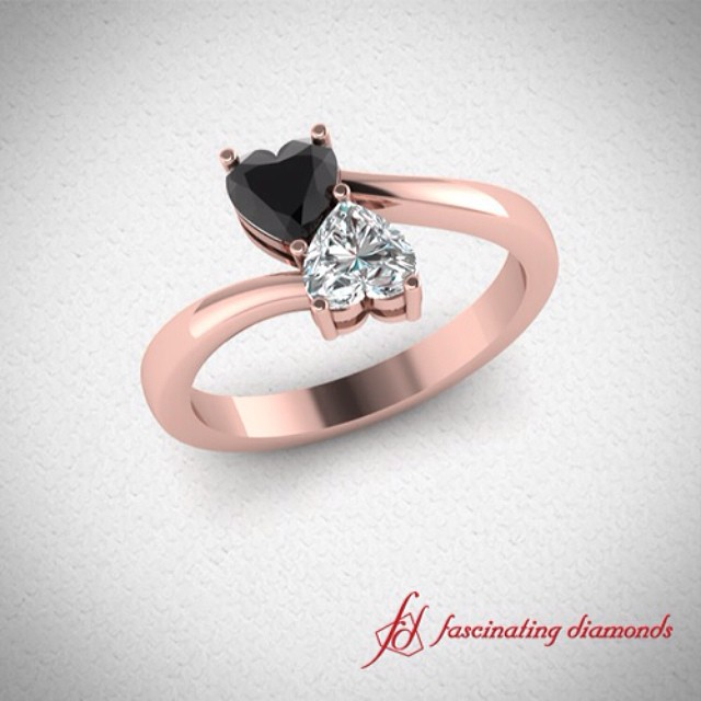 Heart Pair Ring Design