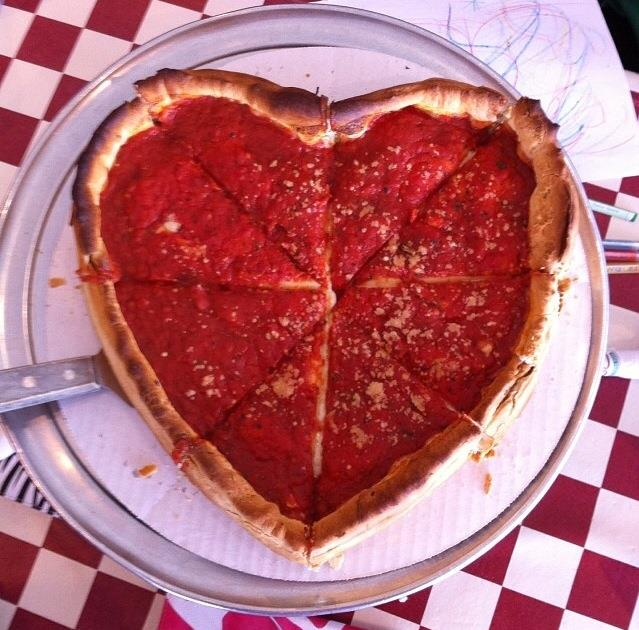 Heart Shape Pizza Is Fabulous Idea For Romantic Day