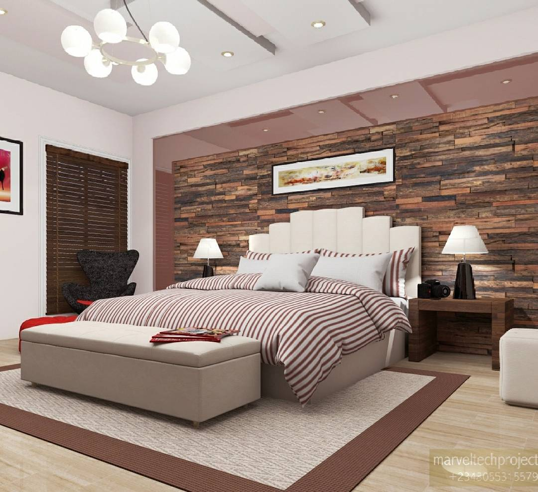 Impressive Interior Of Contemporary Bedroom
