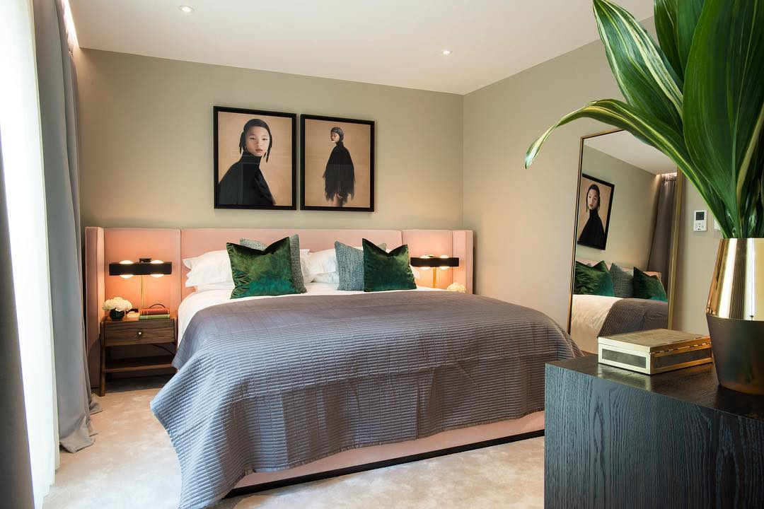 Innovative Modern Touch Contemporary Bedroom
