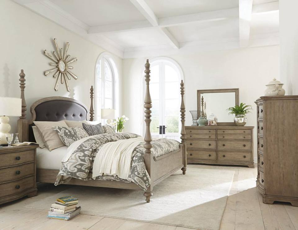 Luxury Rustic Touch Contemporary Bedroom