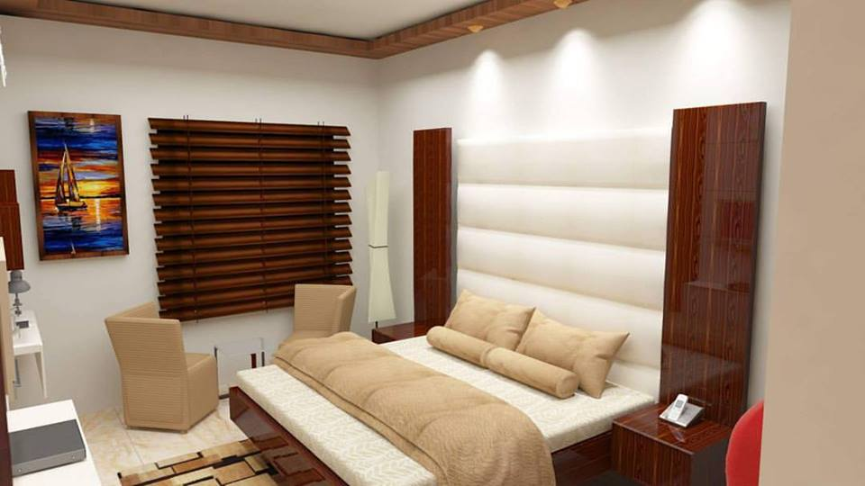Perfect Wooden Interior For Contemporary Bedroom