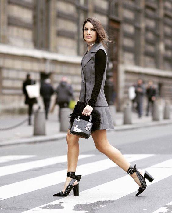 Ravishing Grey Outfit Perfect For Work