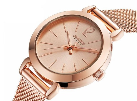 Rocking Rose Gold Watch For Someone Special