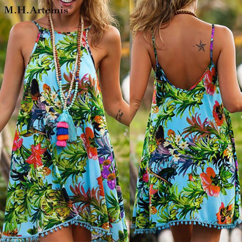 Rocking Summer Boho Chic Dress